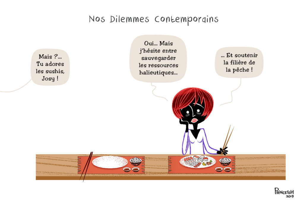 Nos dilemmes contemporains : les sushis