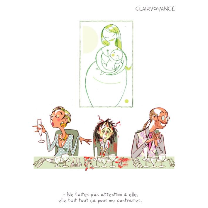 """Extrait de """"Apocalypse & Petits Biscuits"""" auteurs : Pétronille & PrincessH Editions Lapin."""