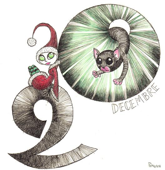 Calendrier de l'Avent 2015 : The Elf and the Cat
