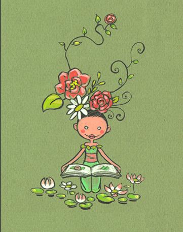 Une demoiselle fleur pour Kita