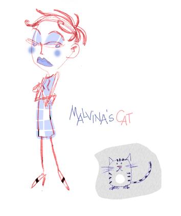 Le chat de Malvina