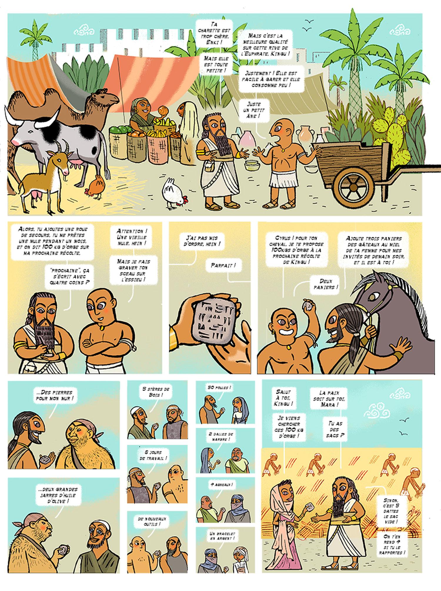 Histoire de l'argent à travers les âges