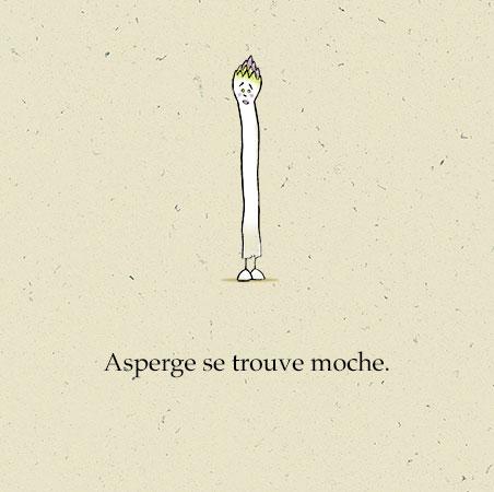 """Couverture de """"Une grande Asperge"""" Auteur, auteure, autrice : PrincessH, Editions Lapin"""