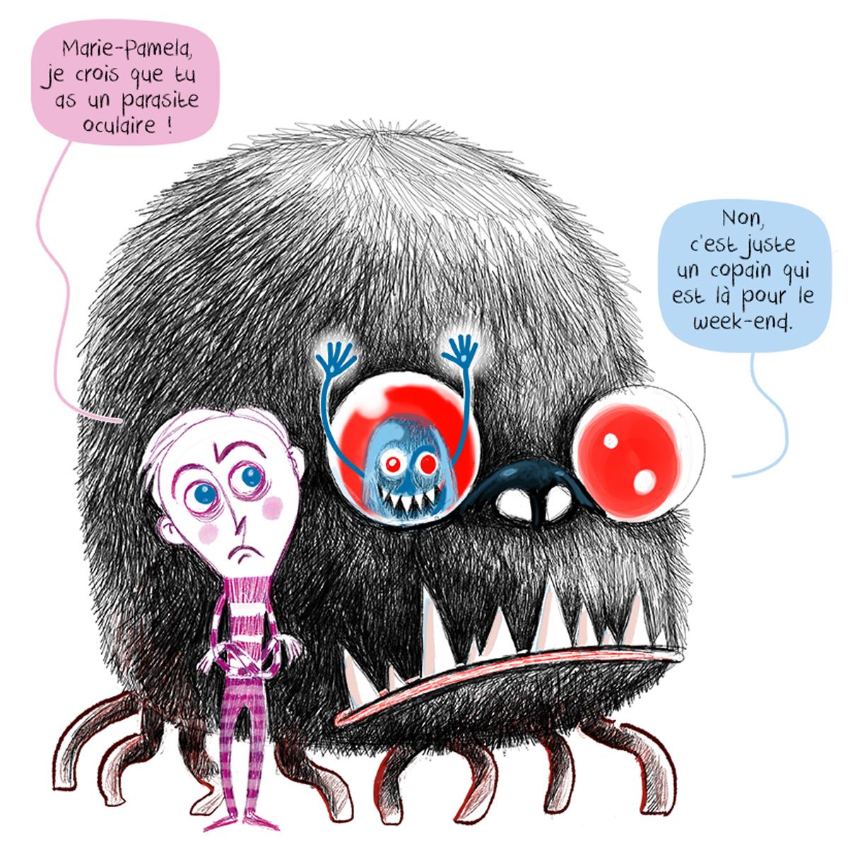 En week-end dans le Monstre. Spending the week-end inside the Monster...