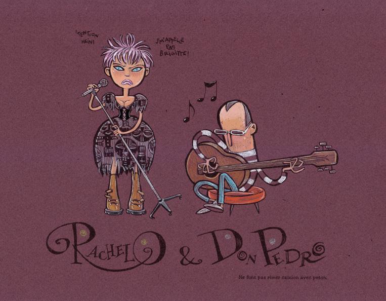 Portraits de RachelO & Don P.