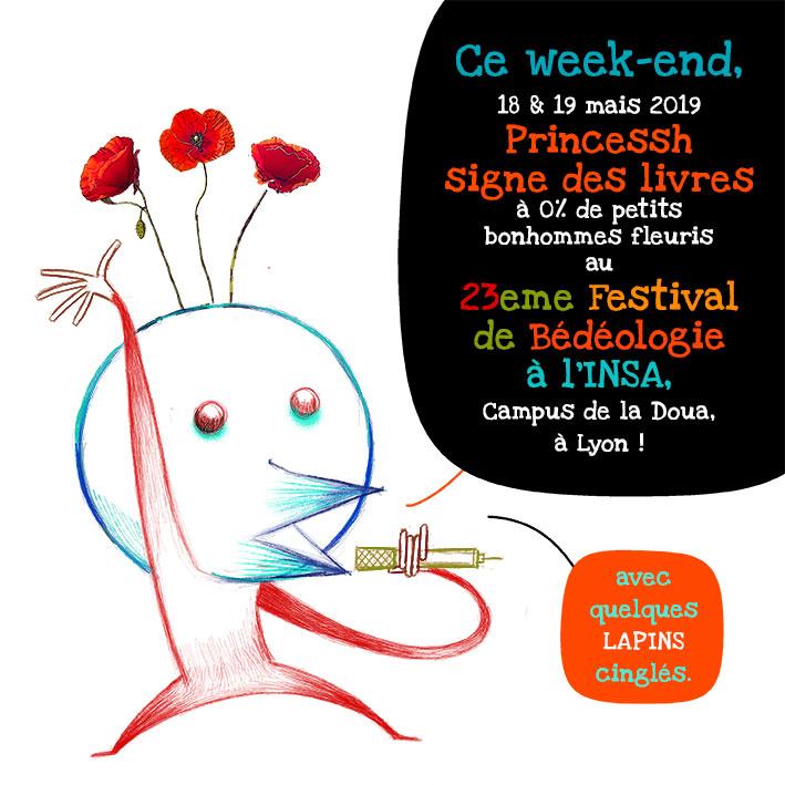 Signature au 23eme festival de Bédéologie à Lyon